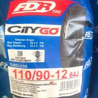 Ban Motor City Go 110 90 12 FDR Honda Scoopy New / Yamaha Freego Ring