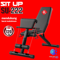 DUMBBELL SIT UP BENCH Fitness Stoll Sit Up Board Kursi Gym MODEL SU222