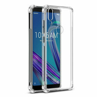 Case AZUS ZENFONE MAX PRO M2 Softcase Casing Anticrack Jelly Clear