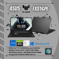 ASUS TUF Dash FX516PE - i7 - 11370H/16GB/512GBSSD/RTX3050TI/WIN/OHS