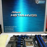 H61m-hvgs asrock 1155