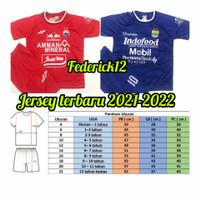 Bisa COD/Stelan baju bola anak termurah,Persija/Persib/Jersey terbaru