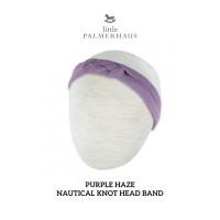 Little Palmerhaus NAUTICAL KNOT HEADBAND - Bandana Bayi - PURPLE HAZE