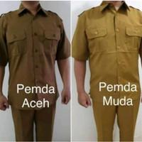 PDH Pemda muda dan Pemda Tua/Aceh.Sepasang Baju dan Celana.Ada size