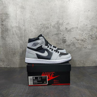 Sepatu Nike Air Jordan 1 Retro Shadow 2.0 Grey Black - 39