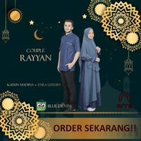 Baju Couple Sarimbit Pasangan Muslim Suami Istri RAYYAN KATUN MADINA