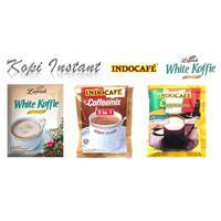 Kopi Luwak White Koffie, & Indocafe Coffeemix, Cappuccino