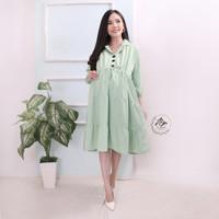 Baju Hamil Dress Hamil Menyusui Maternity XL DS-10