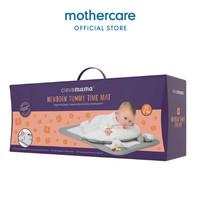 Clevamama 2019 Newborn Tummy Time Mat White