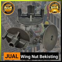 Wing Nut Tie Rod - Wing Nut 94 Kaki 2 - Wing Nut Bekisting Tie Rod