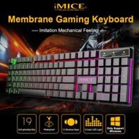 iMice Gaming Keyboard RGB Backlit - AK-600 - Black