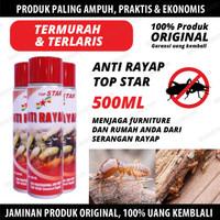 SPRAY CAIRAN OBAT ANTI RAYAP SEMPROT TOP STAR 500ML TERMURAH GROSIR
