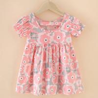 dress anak perempuan cewe bayi lucu katun import murah