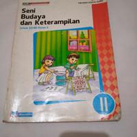 Preloved Buku Seni Budaya dan Keterampilan Masmedia Kelas SD 2