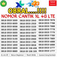 Kartu Perdana Nomor Cantik XL 4G Kuartet 8888 000 Couple