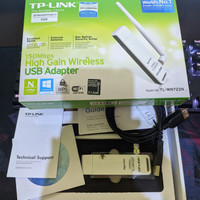 TP-Link TL-WN722N V1 Chipset Atheros AR9271 - Fullset Like New