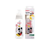 Pigeon Botol Flexibel Streamline Mickey Minnie Botol Susu Bayi 250ml