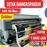 Cetak / Print Spanduk / Banner Flexy 280 standard