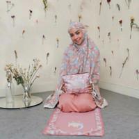 Full Set Sajadah Mukena Alina Traveling