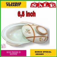 panci kramik/sapo tahu/mangkok sapo/tanah liat 6,5