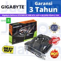VGA Gigabyte GeForce GTX1650 OC 4GB GTX 1650 4 GB DDR6 SINGLE FAN