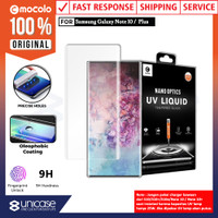 Tempered Glass Galaxy Note 10 Plus / Note 10 Full Cover UV Glue Mocolo