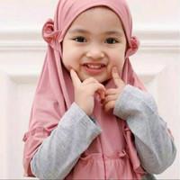 jilbab hijab kerudung anak bayi lucu murah 0-3 tahun Carla /ashafina