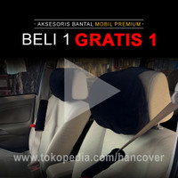 Bantal Mobil Leher Headrest Sheesou Project