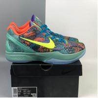 Sepatu Basket Nike Zoom Kobe 6 Prelude All Star MVP Green