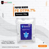 Pupuk Mikro Fe DTPA 7% Aquaponik, Aquascap, Hidroponik 100gr