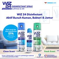 Disenfektan / Disenfectant Spray Aerosol WIZ24 / WIZ 24 300 ML Murah