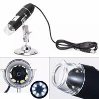 USB 8 LED 2MP Digital Microscope - Mikroskop Magnifier Camera