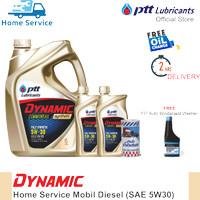 Paket Ganti Oli Mobil Diesel [Dynamic Commonrail 5W30] 8L