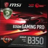 Motherboard MSI B350M Gaming Pro