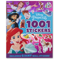 Disney Princess 1001 Stickers (Includes Giant Wall Sticker!)