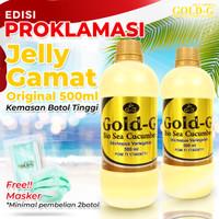 2Botol Jelly Jely Jeli Gamat Gold G GNE 500ml / 500ml Asli / Original