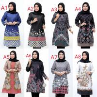tunik baju batik wanita atasan best seller