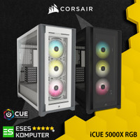 Case Corsair iCUE 5000X RGB - ATX Tempered Glass Mid Tower Smart Case