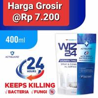 WIZ24 Disinfektan Spray Refill 400ml Pouch Wiz 24