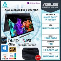 Asus Zenbook Flip S UX371EA HL701TS 2IN1 4K OLED EVO i7 1165G7 16gb