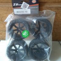 ban roda rc remote control buggy 1/10 hex 12 mm Merk zd racing