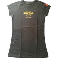 kaos tshirt wanita hard rock cafe hongkong limited edition china Zara