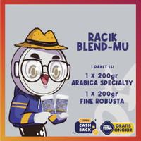 Paket Racik Espresso Blendmu sendiri | Arabika 200g dan Robusta 200g