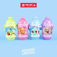 Lion Star Puzzle Sonic Bottle Botol Minum Minuman Air Anak Plastik - NN-21 550mL