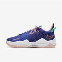 ORIGINAL Nike Sepatu Basket PG 5 - Blue Void - 45