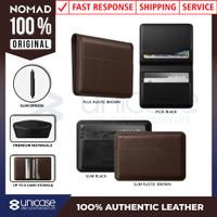 Nomad Wallet Slim Leather Dompet Pria Kulit Asli Premium Original