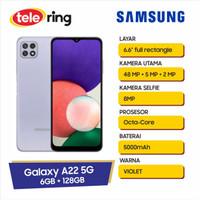 Samsung Galaxy A22 6/128GB 5G Violet