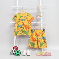 Setelan kaos anak harian karakter baju kaos anak perempuan terbaru - 1-2 tahun