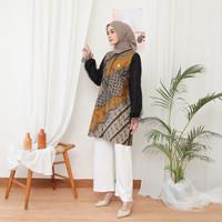Baju Atasan Wanita Tunik NK BATIK Size Custom Jumbo Milanka