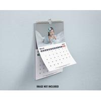 Cetak Kalender Dinding Custom Desain Bebas Uk A3 Kalender 13 Lembar